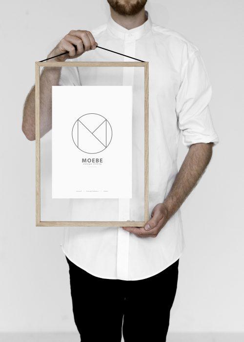 cadre frame a3 moebe melville design. Black Bedroom Furniture Sets. Home Design Ideas