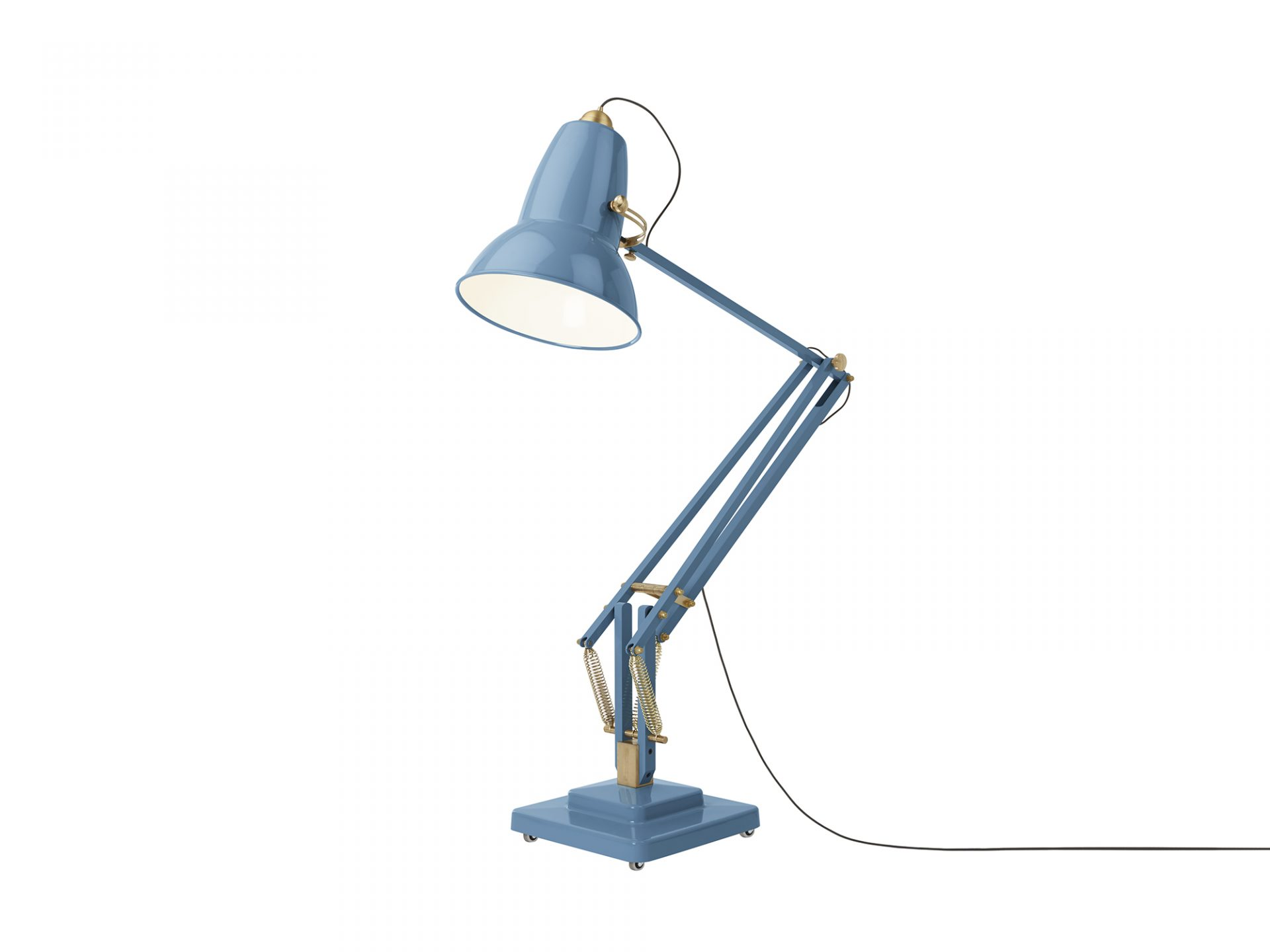 Lampadaire original 1227 giant brass anglepoise - Luminaire industriel la giant collection par anglepoise ...