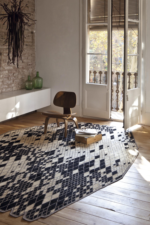 Tapis losanges en laine by nani marquina melville design - Nani marquina alfombras ...