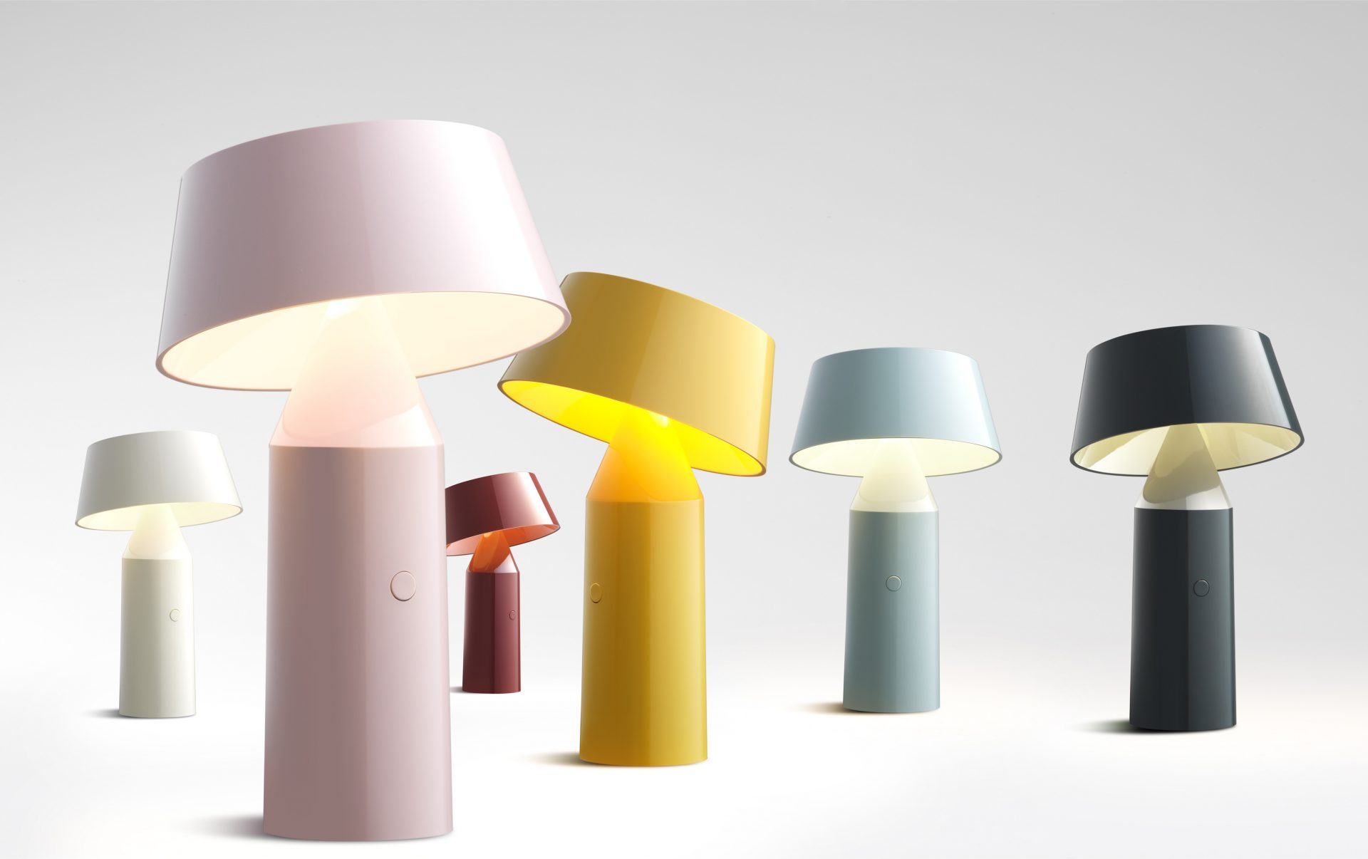 Lampe A Poser Sans Fil Bicoca Marset Melville Design