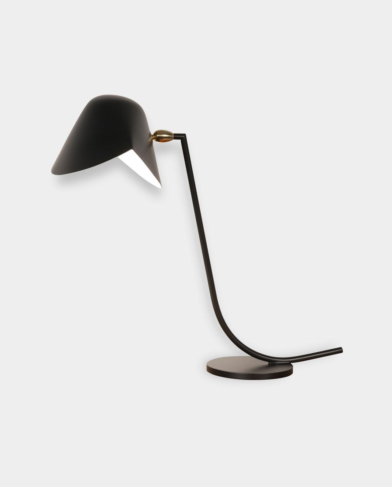 lampe de bureau antony editions serge mouille melville design. Black Bedroom Furniture Sets. Home Design Ideas