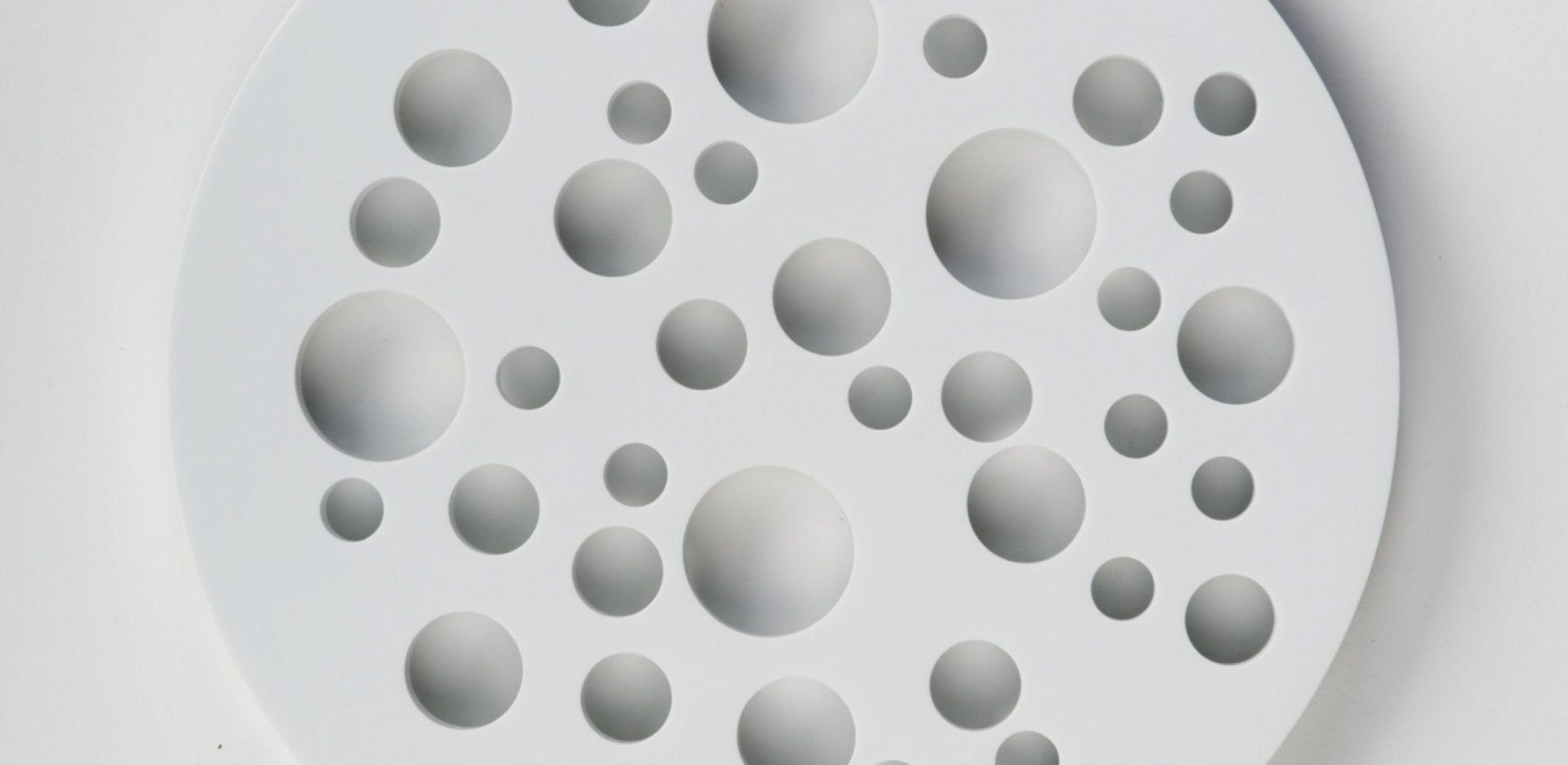 Dessous de plat lunair par Henri p, designer français - Melville Design