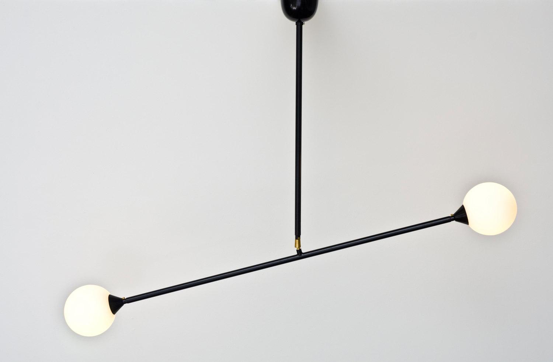 Suspension Two spheres - Atelier Areti